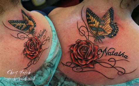 butterflies and roses tattoos 86 stunning and lovely butterfly tattoos and designs