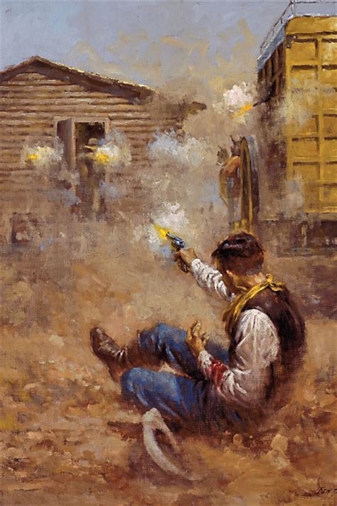 painting robbing surviving a stagecoach robbery true west magazine
