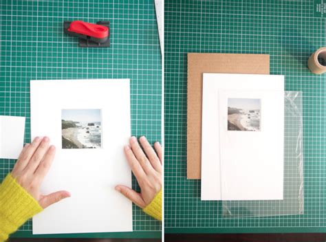 diy picture matting diy make your own picture frame