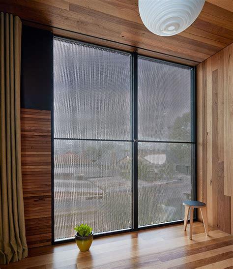 dark screens for house windows architecture architecture adds courtyard into dark horse extension in australia