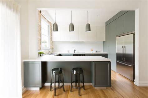 croydon house transitional kitchen melbourne by