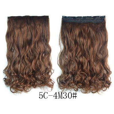 Rambut Palsu Surabaya hair extension clip wig rambut palsu 5c 4m30 brown jakartanotebook