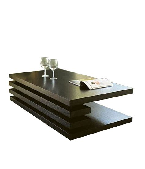 Lilac Wooden Centre Table Make 'n' Live