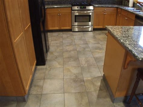 tile kitchen floors ideas kitchen floor tile designs for a warm kitchen to traba homes