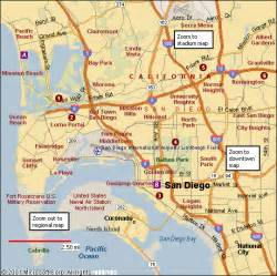 San Diego Area Map by San Diego Map Free Printable Maps