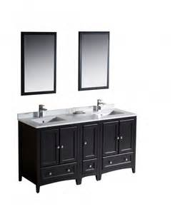 60 Inch Bathroom Vanity 60 Inch Sink Bathroom Vanity In Espresso