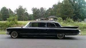 1961 Cadillac Limousine 1961 Cadillac Fleetwood Limousine Mecum Auctions