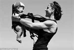 Beckham Thinks Arms Are Flabby by Smiling Sling Lets Babies Be The Living Exercise Aid