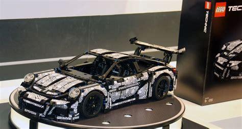 Lego Porsche Gt3 Aufkleber by Lego Technic Porsche 911 Gt3 Rs 42056 Unboxing Power