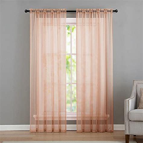 infinity curtains buy vcny home infinity sheer rod pocket 108 inch window