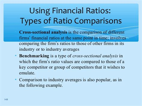 cross sectional ratio analysis bba 2204 fin mgt week 3 financial ratios