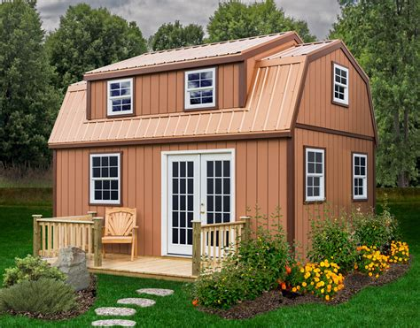 lakewood  large storage shed kit diy shed