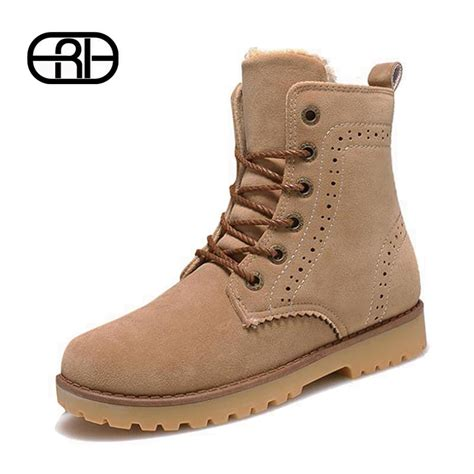 high quality snow boots 2016 winter boots lace up