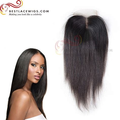 how to do a middle part closure hair style middle part lace closure with indian remy hair yaki www