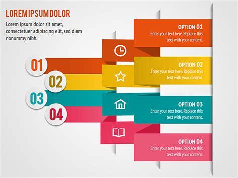 ppt templates for list colorful accent list powerpoint diagram slides colorful