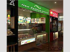 Open Food Court | IVIRA Interior Design Word Counter Word
