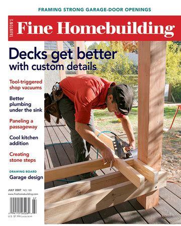 fine homebuilding magazine discountmags com issue 188 fine homebuilding