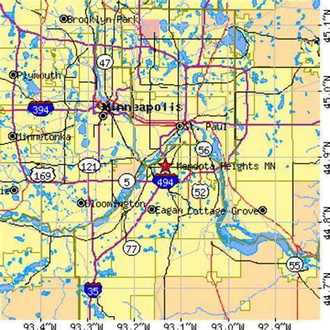 zip code map eagan mn mendota heights minnesota mn population data races