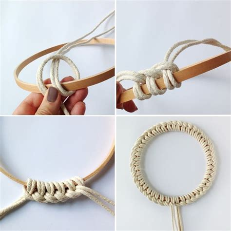 Macrame Tutorial - scandi style trivet macrame tutorial crafts macrame