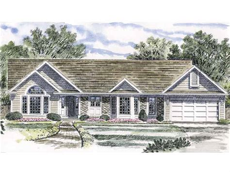 House Plans With Vaulted Ceilings by Ranch Home With Vaulted Ceilings 19542jf Architectural