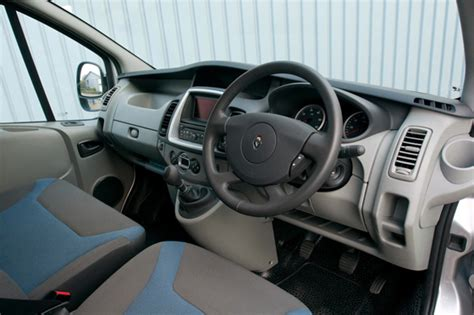 renault van interior spartan cabs a thing of past for white van man wheel