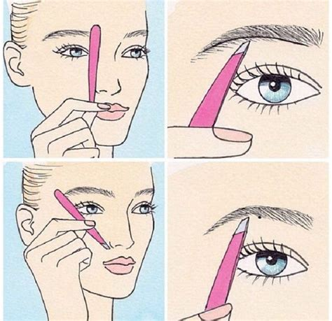12 Tips On How To Pluck Your Eyebrows by 25 Best Ideas About Pluck Eyebrows On