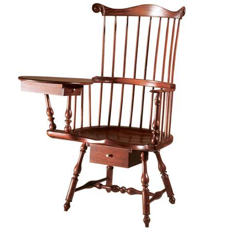 Writing Chair by D R Dimes Philadelphia Writing Arm Chair