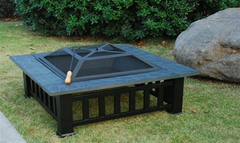 Portable Gas Firepit Portable Gas Pit Garden Outdoor Med Home Design Posters