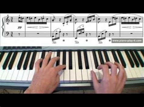 youtube tutorial fur elise fur elise piano a free piano lesson piano tutorial