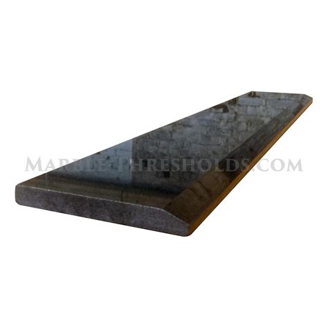 single hollywood door threshold black absolute granite 36 x 4 inches marble thresholds com
