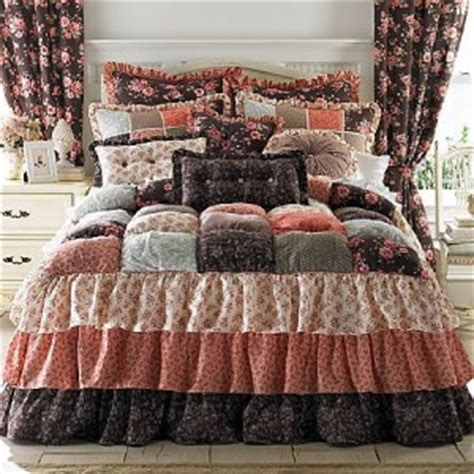 puff bedspreads new jcpenney puff top gabby quilted comforter bedspread 175 brown ebay