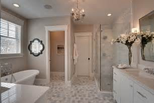 Master Bathroom Tile Ideas by Small Master Bathroom Ideas Bathroom Traditional With Gray
