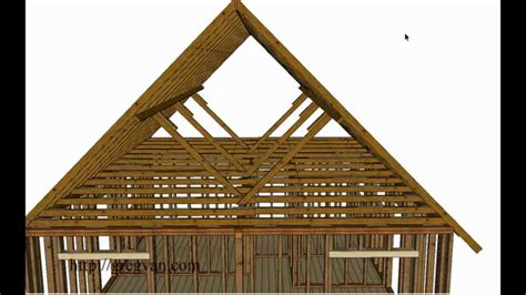 how to roof a house what is a roof purlin house framing and construction