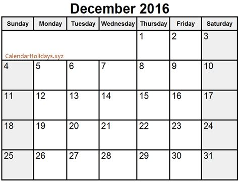 word calendar templates december 2016 word calendar wordcalendar