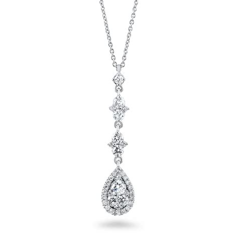Diamant Halskette by 0 56 Carat Necklace Diamondland