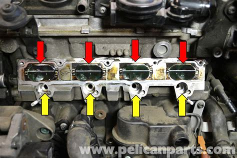 small engine maintenance and repair 2009 volkswagen gti navigation system volkswagen golf gti mk v intake valve cleaning 2006 2009 pelican parts diy maintenance article