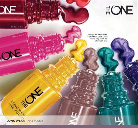 The One Wear Nail Warna Limelight katalog oriflame mei 2016 of the year 2016 indonesia