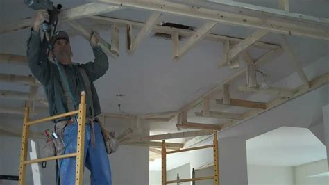 how to frame drop box ceilings home renovation tips