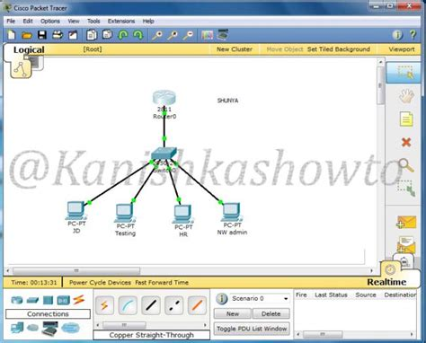 cisco packet tracer tutorial subnetting subnetting tutorial in packet tracer how to subnet a network
