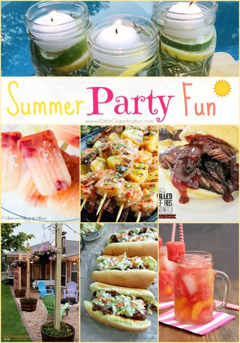 summer party ideas summer party ideas fun in the sun party ideas buffet of food bespoke summer parties 25 best