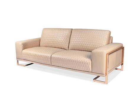 Aico Gianna Leather Sofa Collection Aico Living Room