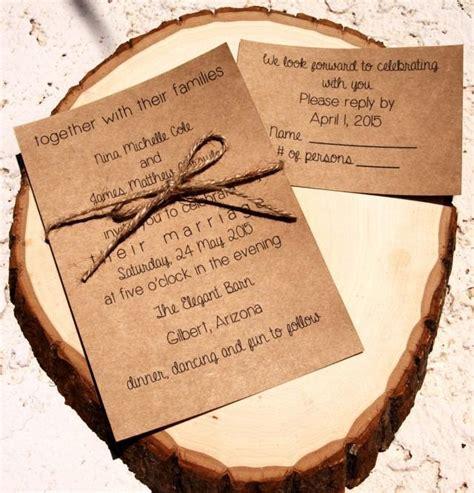 Wedding Invitations Custom by Custom Wedding Invitation Rustic Country Wedding