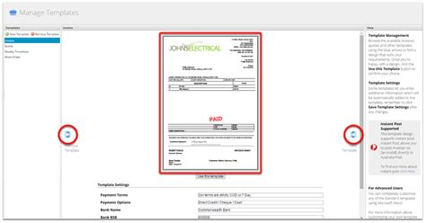 I Can T See Any Invoice Quote Template Designs In The Document Templates Screen Or On The Servicem8 Form Templates