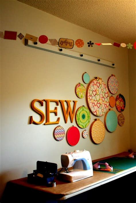 Sewing Room Decor Sewing Room Wall Sewing Studio Inspiration Pinterest