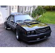 Widebody 1982 Ford Mustang GT Modified By Dealer