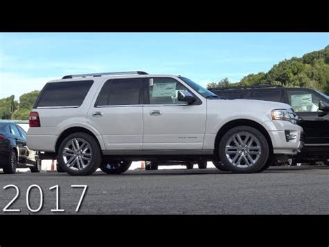 2017 Ford Expedition Review by 2017 Ford Expedition Platinum Review In 4k