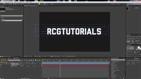 tutorial after effects transitions after effects tutorial line reveal transition effect hd