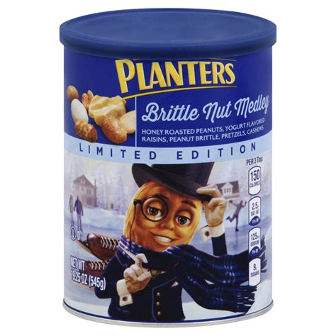 Planters Nut by Planters Brittle Nut Medley 19 25 Oz