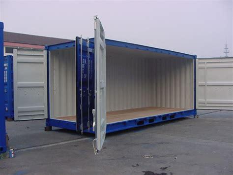 container wohnung kaufen gebrauchte und neue side door container open side