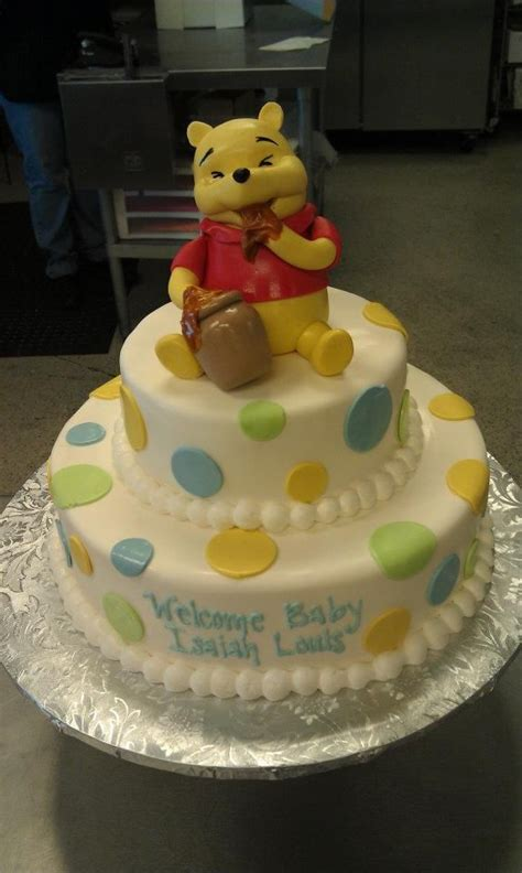 Pooh Baby Shower Cakes by Winnie The Pooh Baby Shower Cake Cakes